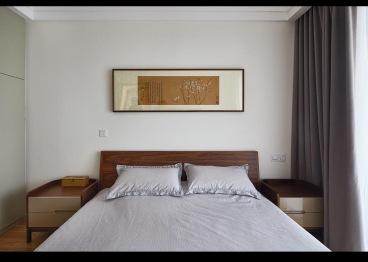 时代都会新中式卧室效果图
