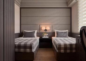 天洲视界城后现代卧室效果图