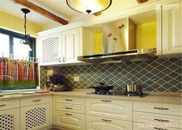 雨花客廳現代簡約廚房效果圖
