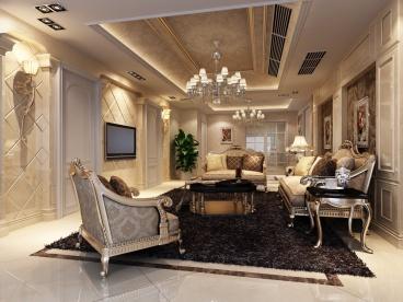 西站瑞都三室二厅141平装修效果图