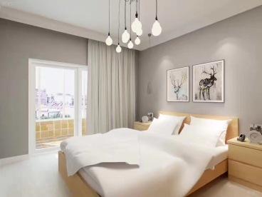 东方维罗纳北欧卧室效果图