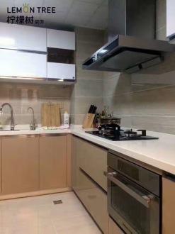 松泽家园现代简约厨房效果图