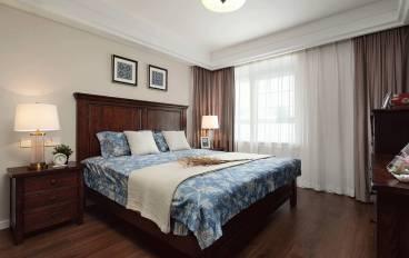 远景·海德公园美式卧室效果图