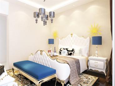 奥莱城欧式古典卧室效果图