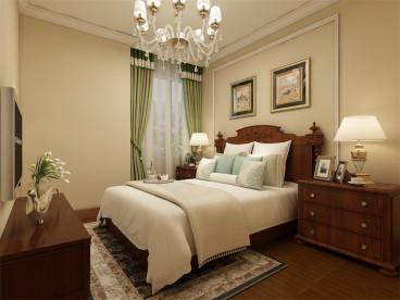 夏洛兹花园欧式古典卧室效果图