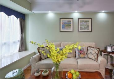 融侨城-美式三室二厅装修效果图