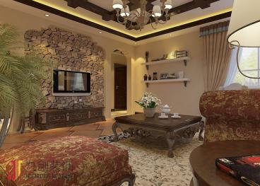 丽景苑全包三室二厅装修效果图