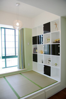鲁能领秀城三室一厅90平装修效果图