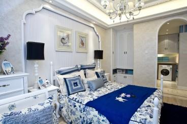 优活城地中海卧室效果图