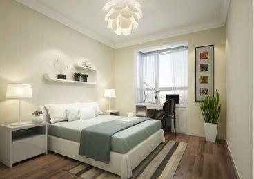 东城国际现代简约卧室效果图
