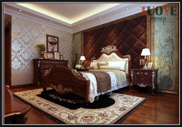 白金瀚宫欧式古典卧室效果图