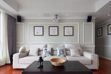 美洲花园棕榈湾三室一厅现代简约装修效果图
