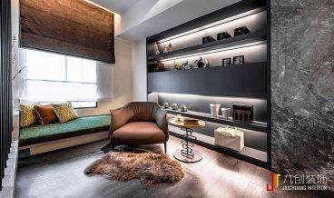 新洲人家现代简约三室二厅装修效果图