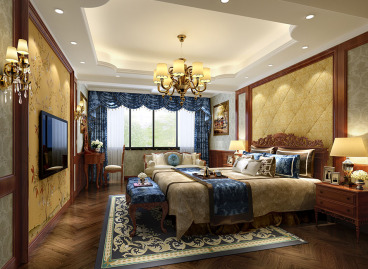 置信丽都楠庭三室二厅170平装修效果图