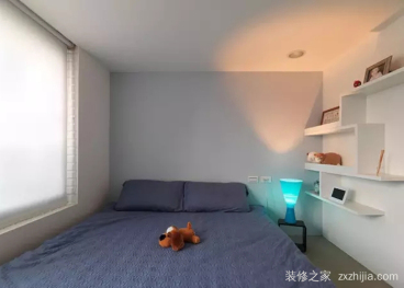 东方环球影城现代简约卧室效果图