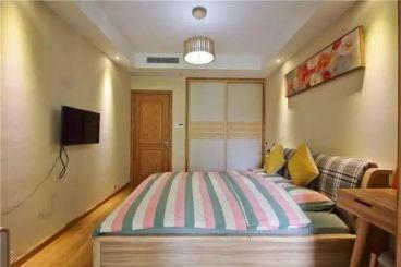 京汉君庭日式卧室效果图