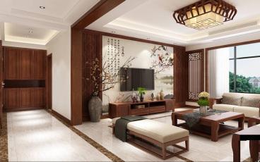 金海名园中式四室三厅装修效果图