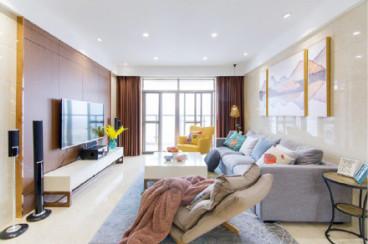 三利麓山城三室一厅现代简约装修效果图