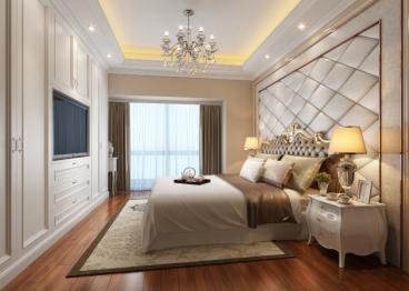 山语清晖欧式古典卧室效果图