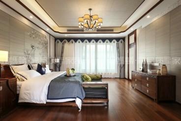 运盛美之国中式卧室效果图