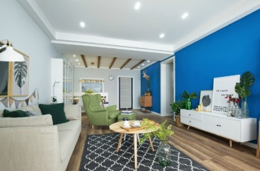 西脉家园全包二室一厅装修效果图