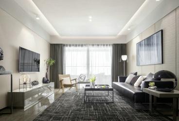 格调绮园现代简约二室二厅87平装修效果图