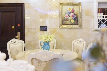 醴陵紫荆苑三室二厅北欧装修效果图