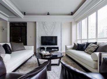 两室两厅一卫二室二厅92平装修效果图