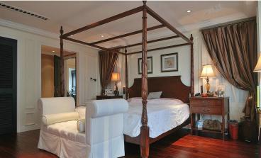 康城国际美式卧室效果图