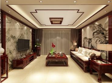 香榭丽花苑五室二厅半包装修效果图