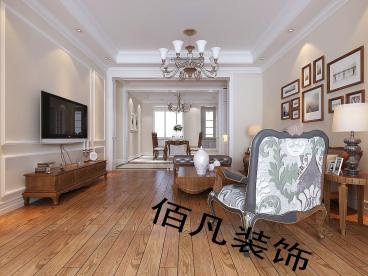 普罗旺斯158平三室二厅装修效果图