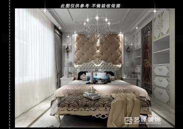 武安欧式古典卧室效果图