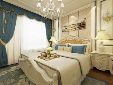 海诚园欧式古典卧室效果图