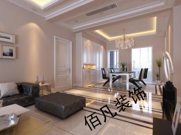 普罗旺斯27号楼三室二厅154平装修效果