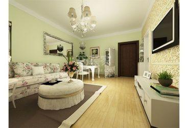 宝翠园全包二室一厅装修效果图