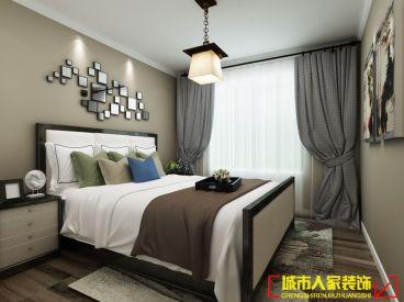 繁华城后现代卧室效果图