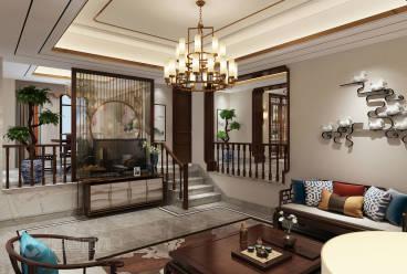 金色家园全包160平装修效果图
