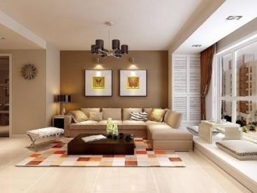 融创春风十里二室一厅现代简约装修效果图