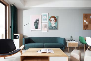 德润朗悦湾二室一厅95平装修效果图