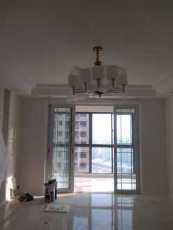 河畔花城140平三室二厅全包装修效果图