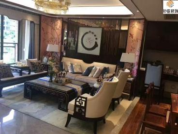 培元小区90平现代简约三室二厅装修效果图