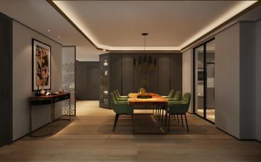 棕榈泉全包二室一厅装修效果图