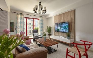 远大都市风景一期三室二厅95平装修效果图