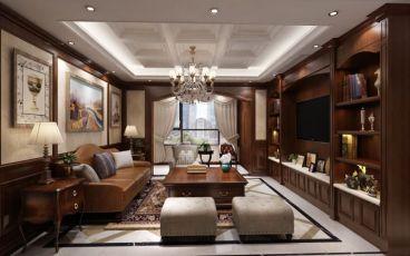 云锦世家二室二厅103平装修效果图