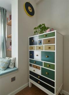 绿地国际花都三期美式卧室效果图