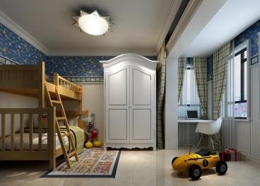 海马公园欧式古典卧室效果图