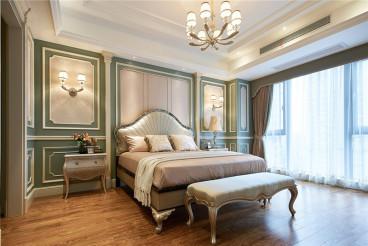 天元世家歐式古典臥室效果圖