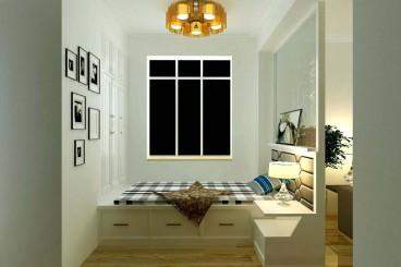 火车站  东西 路现代简约卧室效果图
