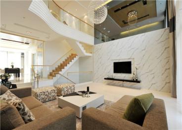 中南山海湾180平四室三厅装修效果图