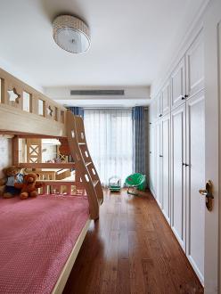 乐筑良品现代简约儿童房效果图